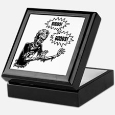 zombie-boobs-T Keepsake Box