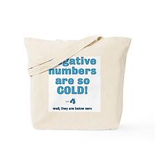 below zero Tote Bag