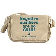 below zero Messenger Bag