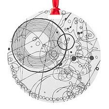 circles fob watch Ornament