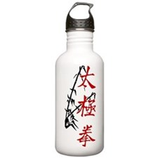 ttcverticalbambooSide Water Bottle
