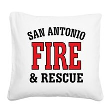 SAF back logo Square Canvas Pillow