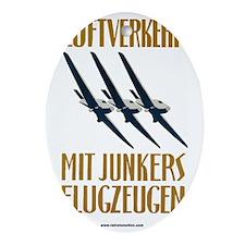 Junkers - German Aviation Oval Ornament