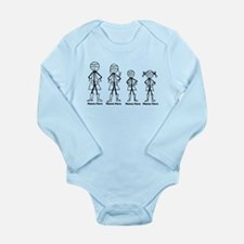 Personalized Super Family Body Suit