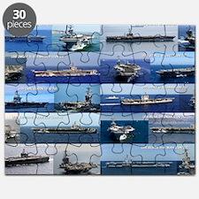 Nimitz Class Aircraft Carrier Poster Puzzle