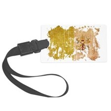 vatican city textured splatter a Luggage Tag