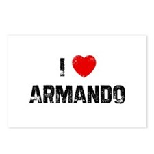 I * Armando Postcards (Package of 8)
