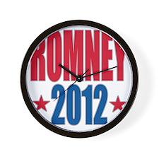 Romney 2012 Wall Clock