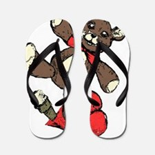Teddy bear Flip Flops