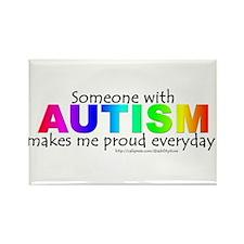 Autism Pride Rectangle Magnet