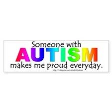 Autism Pride Bumper Bumper Sticker