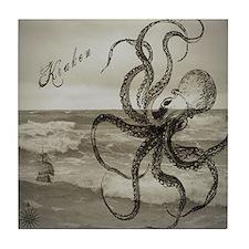 The Kraken Tile Coaster