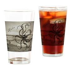 The Kraken Drinking Glass