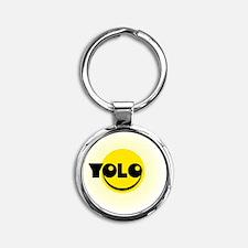 YOLO_B06 Round Keychain