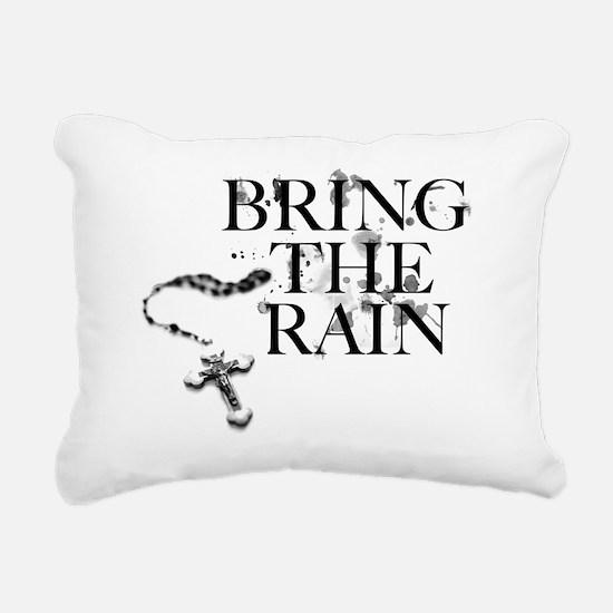 Bring The Rain Rectangular Canvas Pillow