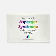 """Asperger Syndrome Pride"" Rectangle Magnet"