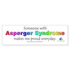 """""""Asperger Syndrome Pride"""" Bumper Bumper Sticker"""