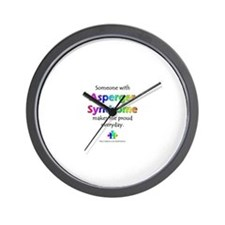 """Asperger Syndrome Pride"" Wall Clock"