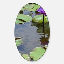 purple lily card Decal