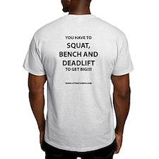 How do you get big T-Shirt