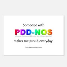 PDD-NOS Pride Postcards (Package of 8)