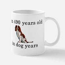 70 birthday dog years springer spaniel 2 Mugs