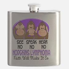 See Speak Hear No Hodgkins Lymphoma 1 Flask