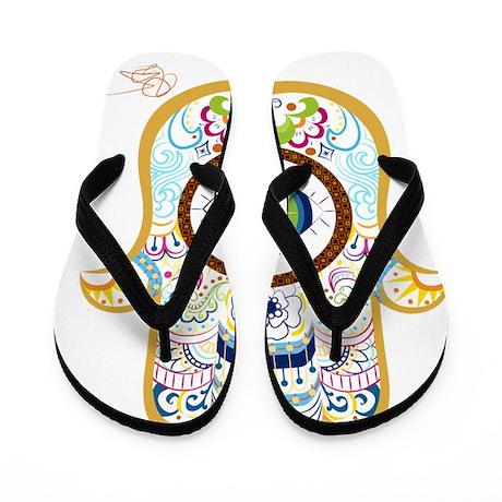 Hamsa Flip Flops
