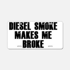 diesel Aluminum License Plate