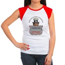 Uncle Sam Corporations  Women's Cap Sleeve T-Shirt