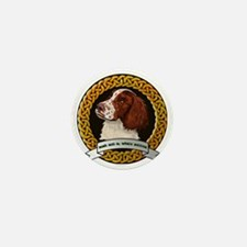 IRISH RED  WHITE SETTER Mini Button