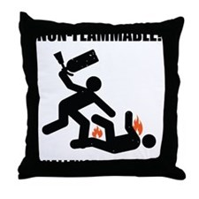 non flammable Throw Pillow