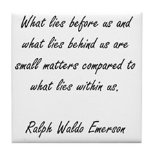 what lies within Tile Coaster