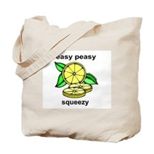 Easy Peasy Lemon Squeezy Tote Bag