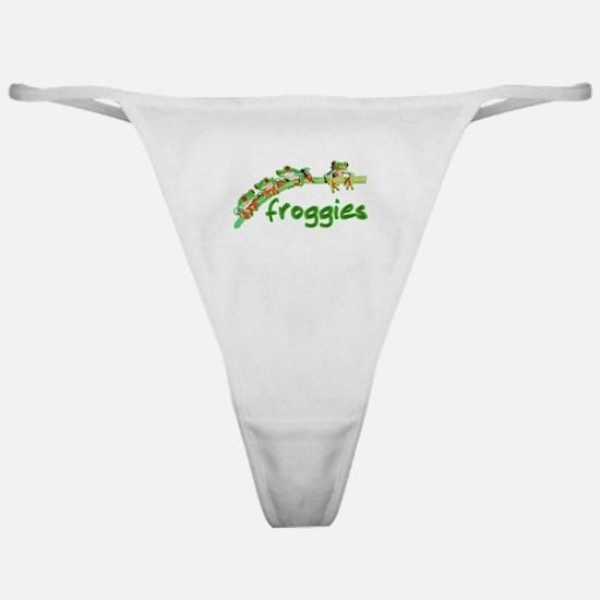 Froggie Merch Classic Thong