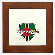 dominica2 Framed Tile