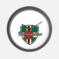 dominica2 Wall Clock