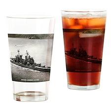 langeles framed panel print Drinking Glass