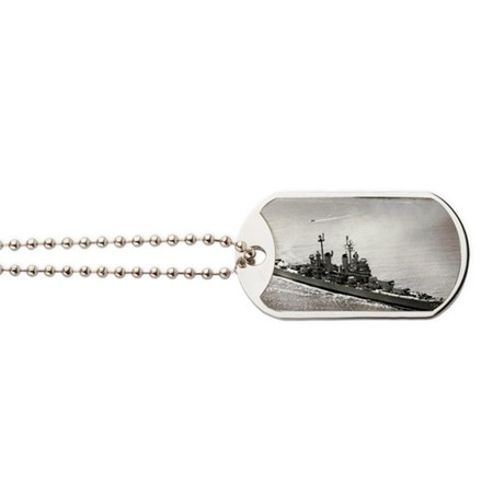 langeles rectangle magnet Dog Tags