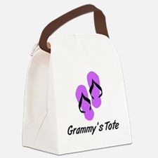 GRAMMYS TOTE FLIPFLOP Canvas Lunch Bag