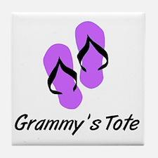GRAMMYS TOTE FLIPFLOP Tile Coaster