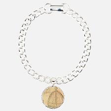 Firenze Charm Bracelet, One Charm