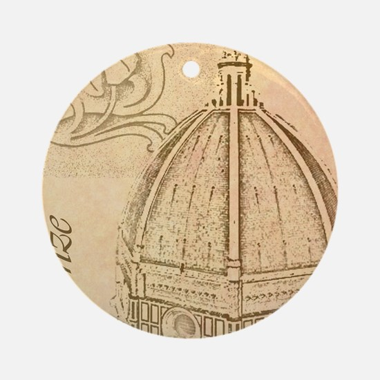 Firenze Round Ornament
