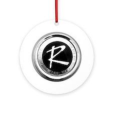 rambler Round Ornament