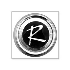 "rambler Square Sticker 3"" x 3"""