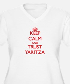 Keep Calm and TRUST Yaritza Plus Size T-Shirt