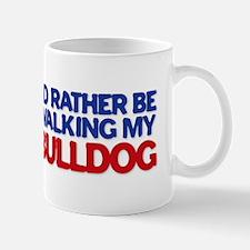 Walking Bulldog Mug
