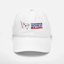Walking Bulldog Baseball Baseball Cap