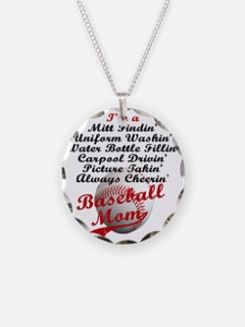 Baseball_Mom Necklace