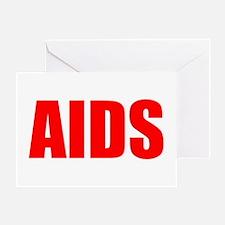 AIDSdark Greeting Card